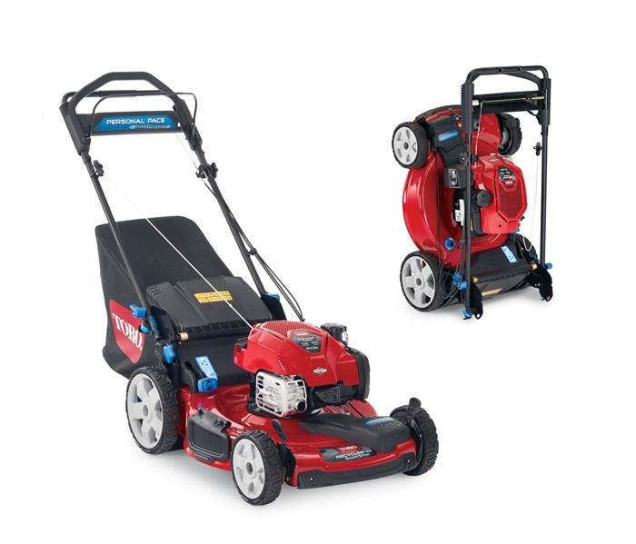 22 56cm Everse Personal Pace Smartstow High Wheel Mower 20355