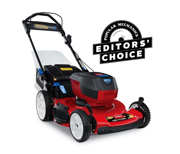 "22"" (56cm) 60V MAX* Electric Battery SMARTSTOW® Personal Pace® High Wheel Mower"