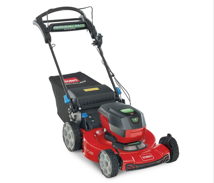 "22"" (56cm) 60V MAX* Electric Battery SMARTSTOW® Personal Pace Auto-Drive™ High Wheel Mower (21466)"