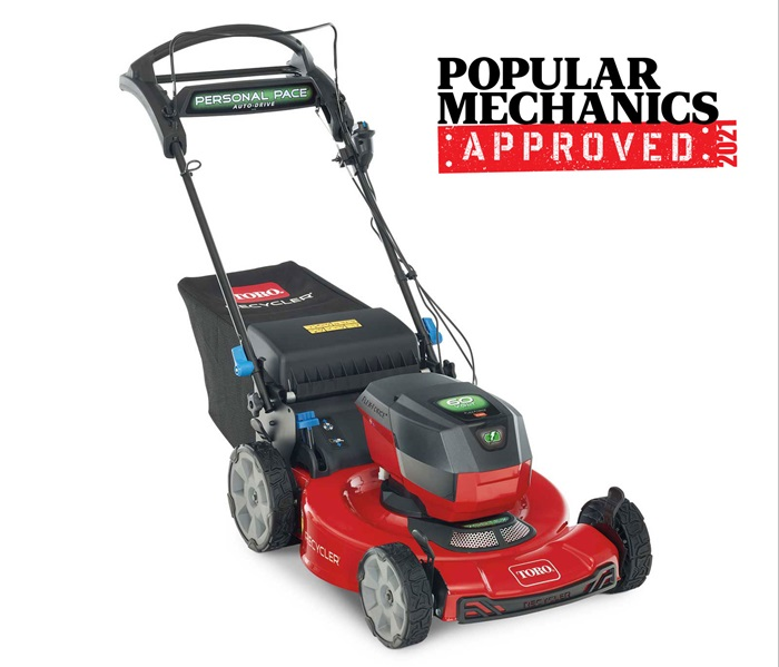 """22"""" (56cm) 60V MAX* Electric Battery SMARTSTOW® Personal Pace Auto-Drive™ High Wheel Mower (21466)"""