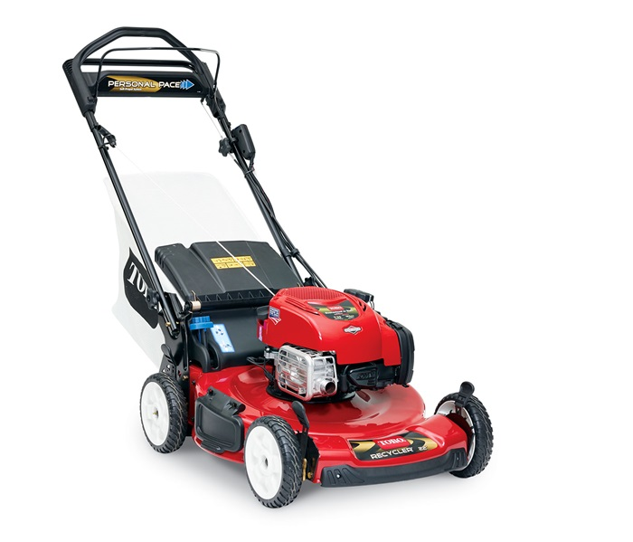 toro 22 56 cm personal pace electric start lawn mower. Black Bedroom Furniture Sets. Home Design Ideas