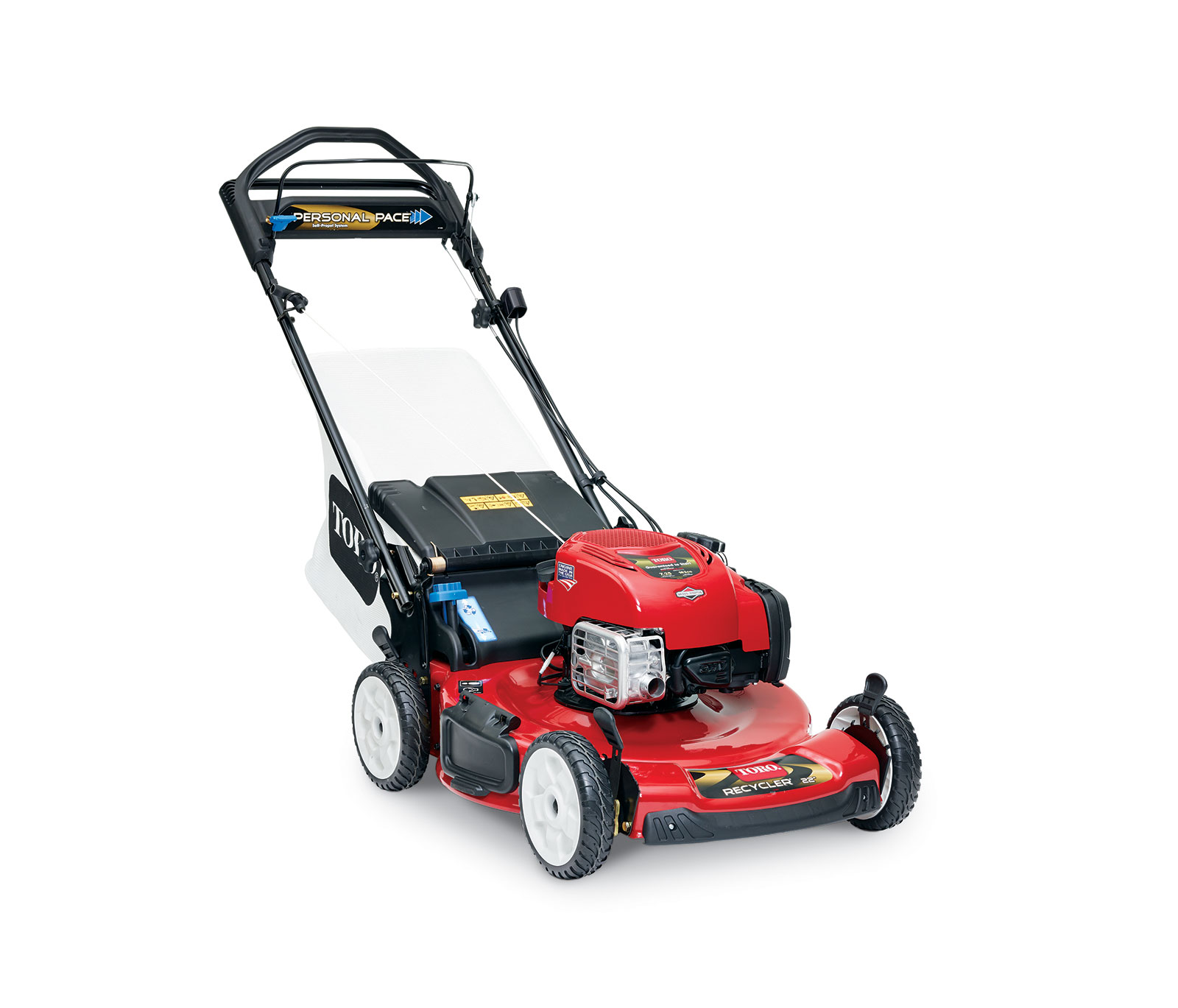 """22"""" Personal Pace Spin Stopâ""""¢ Mower"""