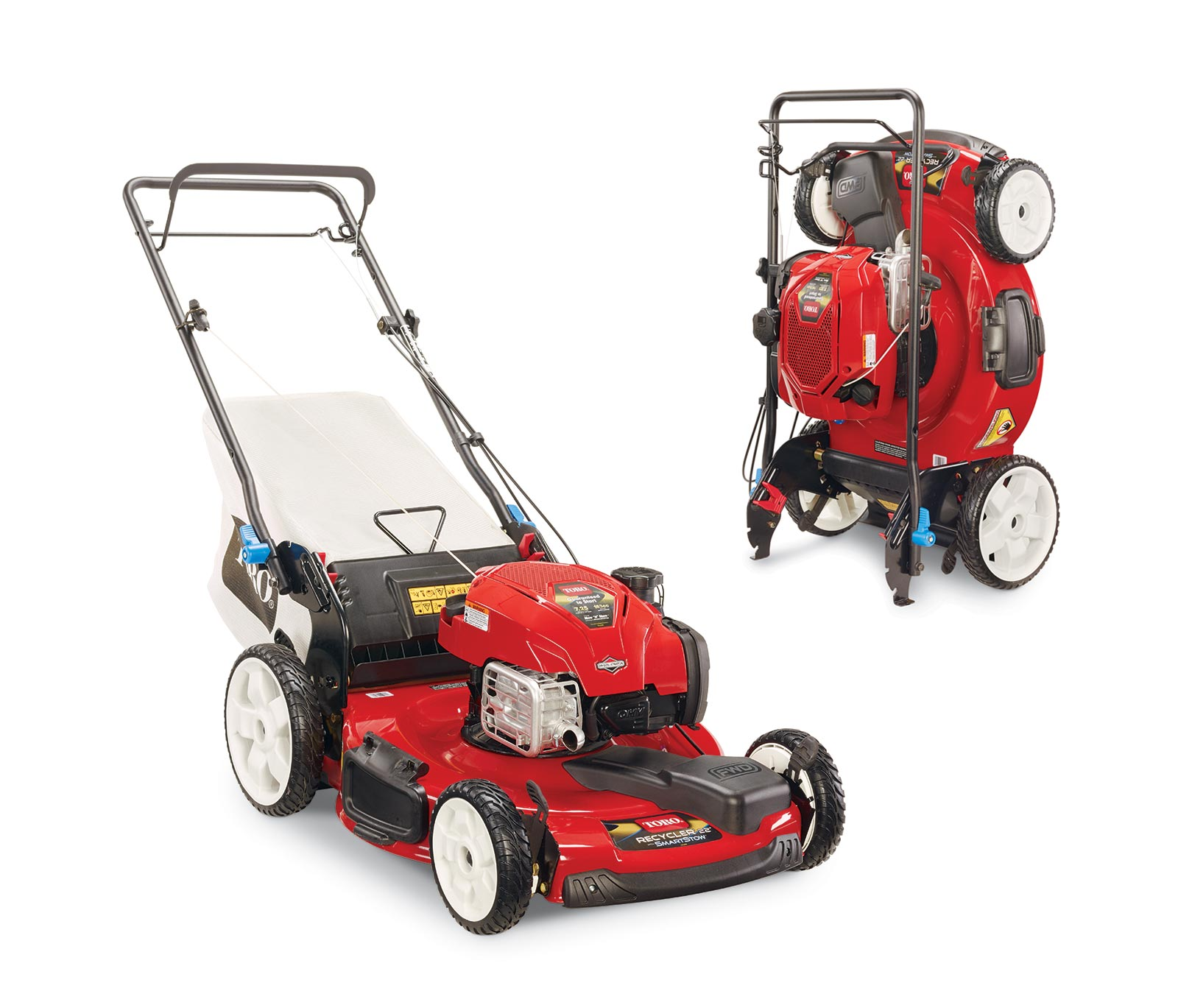 toro 22 56cm smartstow variable speed high wheel lawn mower rh toro com toro recycler 190cc manual pdf toro sr4 super recycler 190cc manual