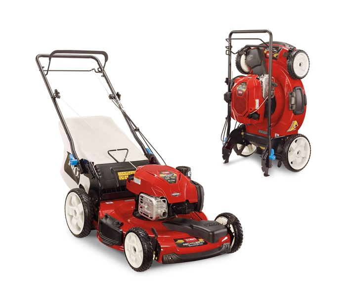 22 Quot Smartstow 174 Variable Speed High Wheel Lawn Mower Toro