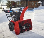 Power up with a dependable Power Max HD two-stage snow blower.