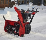 Power up with a Toro Power Max HD two-stage snow blower.