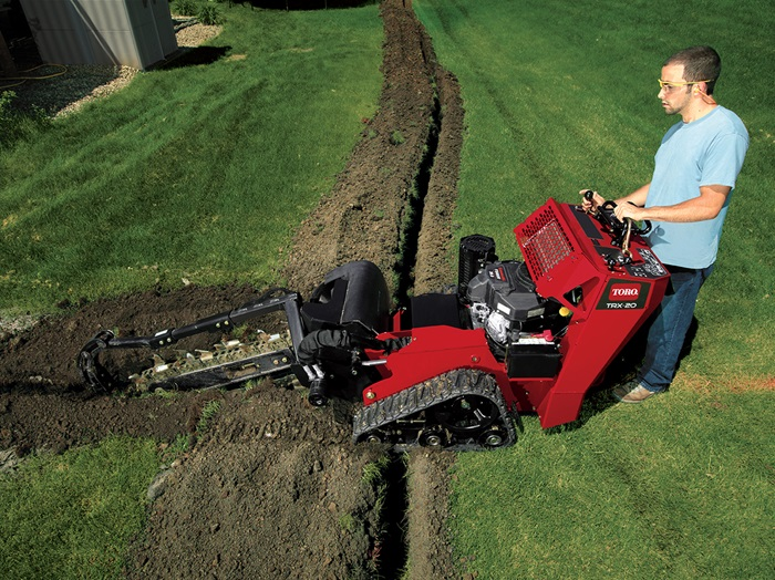 Home Depot Tool Rental Trench Digger