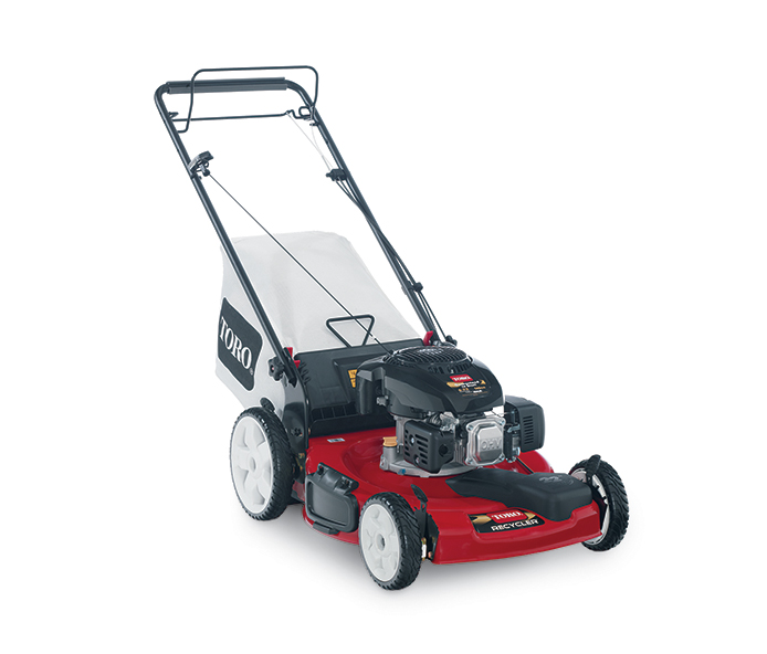 toro 22 quot 56 cm variable speed high wheel non carb compliant lawn mower