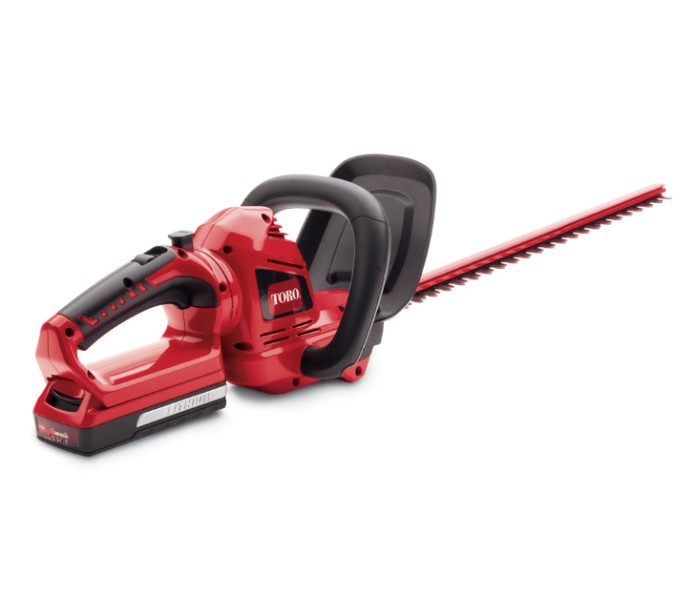 3 Point Hedge Trimmer : Toro v max quot cordless hedge trimmer yard tools