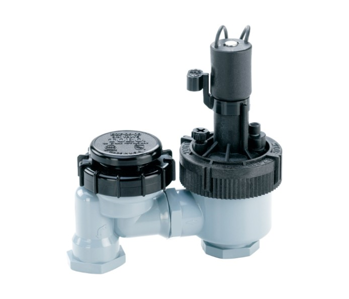 how to clean irrigation valves