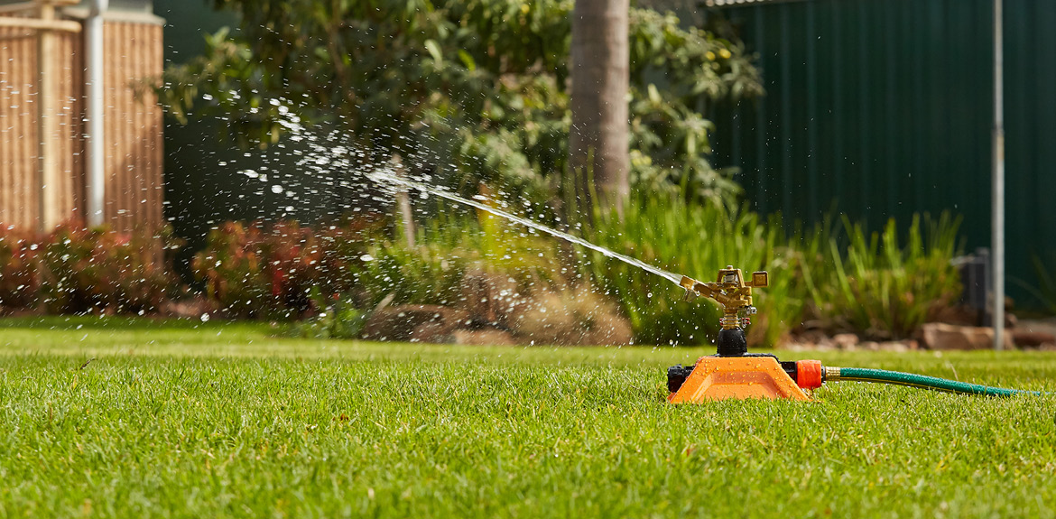 Click and Go Impact Sprinkler