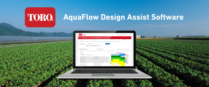 AquaFlow Drip Irrigation Design Software