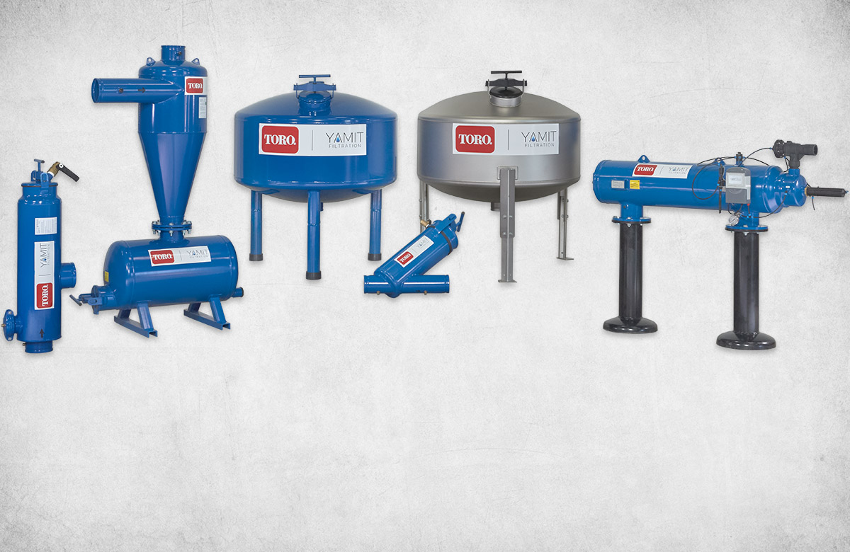Advanced Filter Systems | Automatic Filtration, Semi-Automatic Filtration | Toro and YAMIT Filtration
