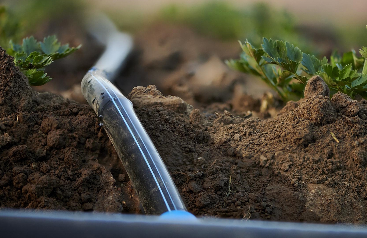 Aqua Traxx Azul dripe tape from Toro Ag for farm irrigation