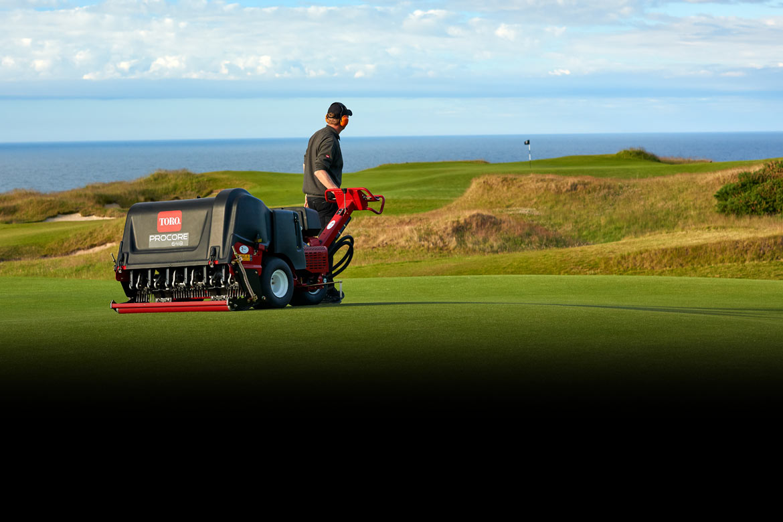 Golf Course Aeration Amp Cultivation Aerating Equipment Toro