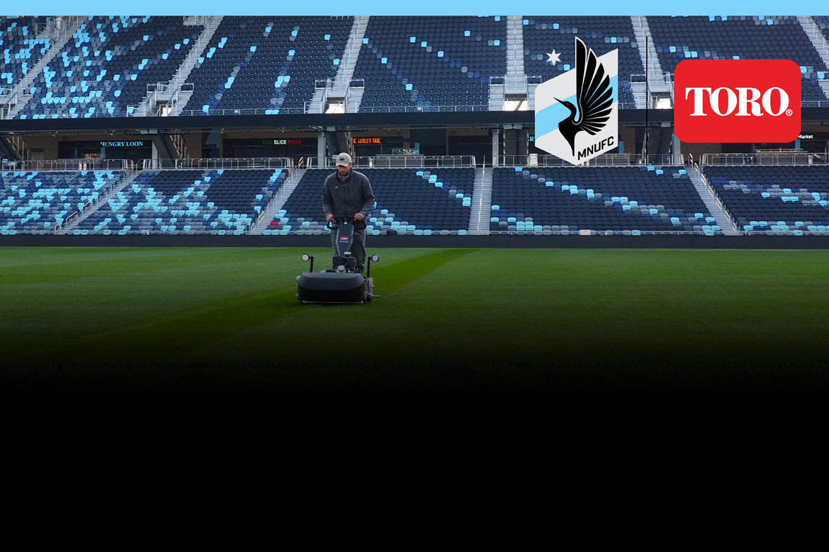 Toro is the Official Partner of and equipment provider for the Minnesota United FC