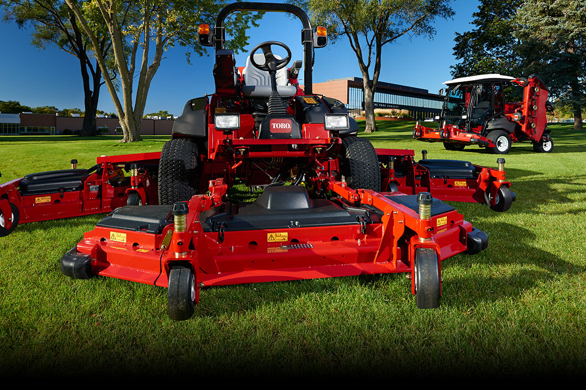 Rotary Mowers, Large Area Rotaries, Small Area Rotaries