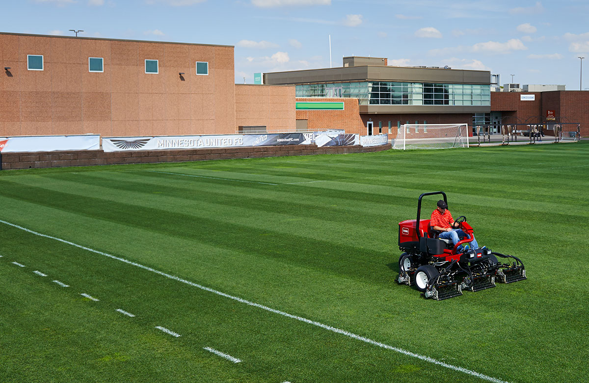Sports Field Grounds Large Or Small Areas No Problem
