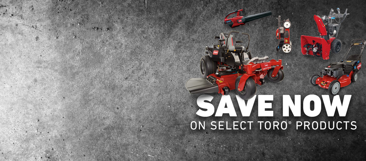 Toro Product Promotions
