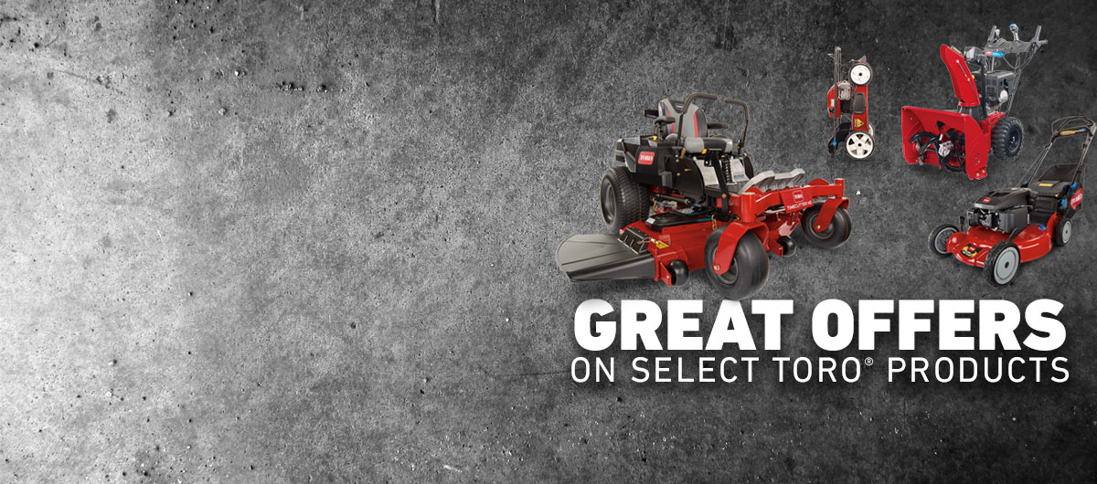 Toro Product Offers