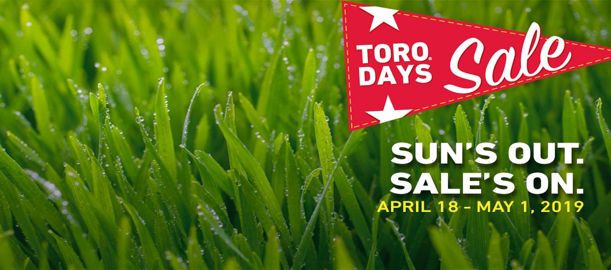Toro Days Sale