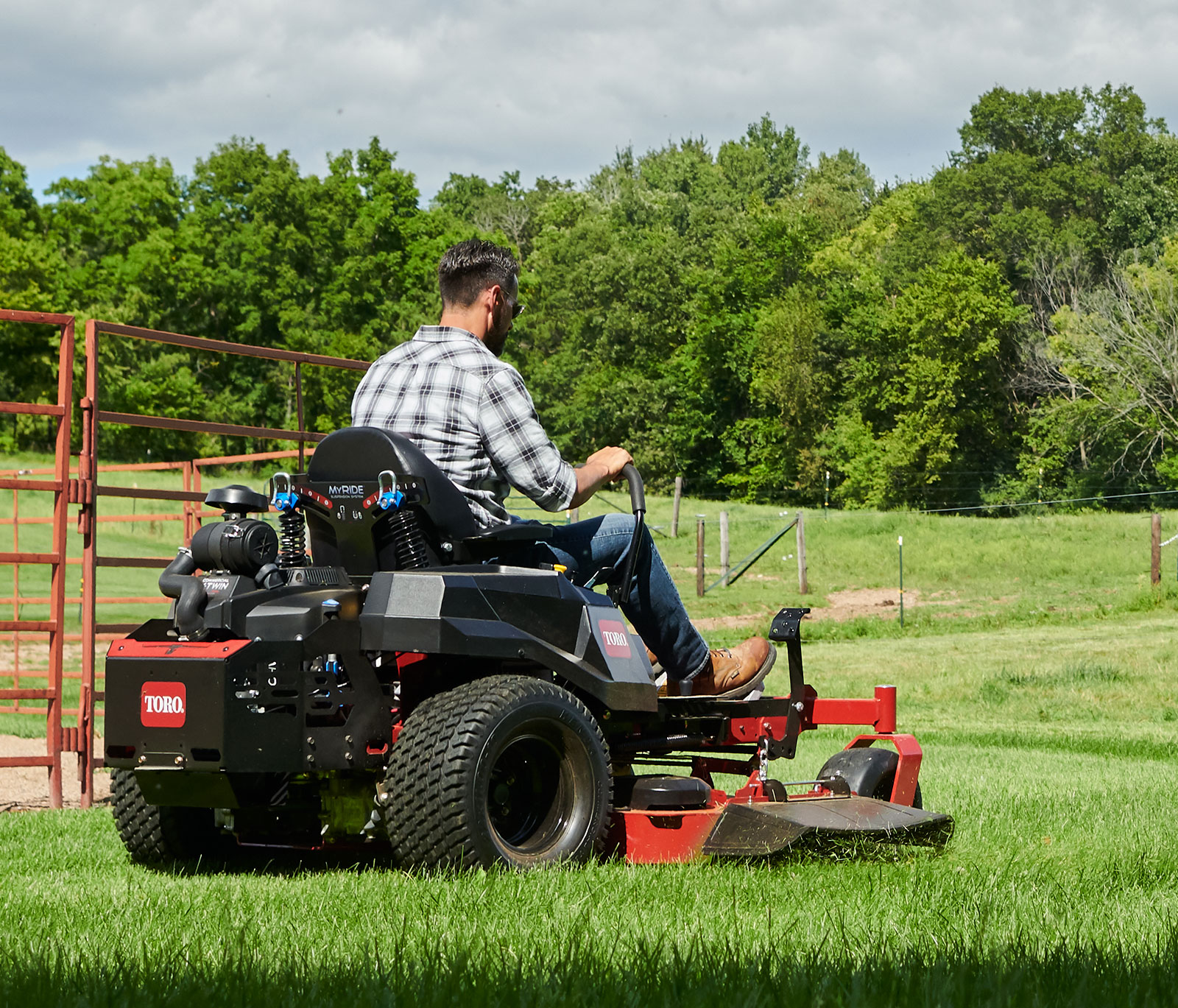 Try the Toro Myride zero turn mower experience