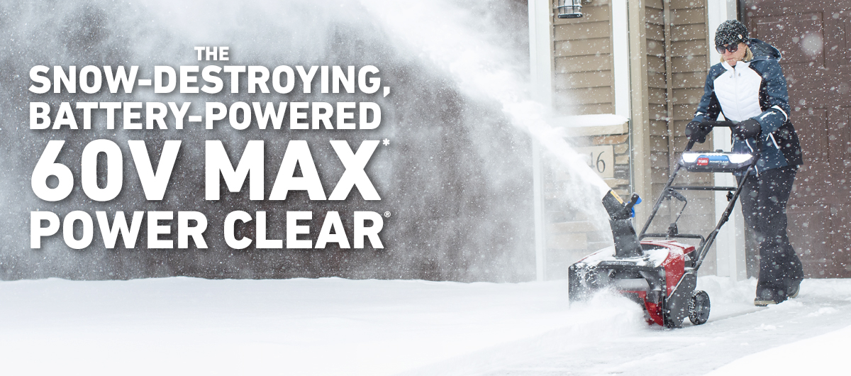 60V Max* Power Clear Snow Blower