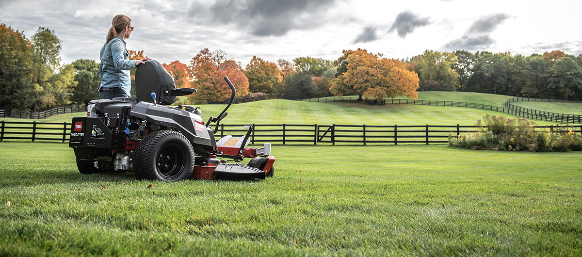 More time living with a TimeCutter zero turn from Toro