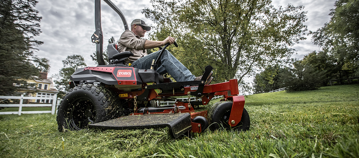 Biggest, baddest, grass shredding zero turn mower - Titan MAX