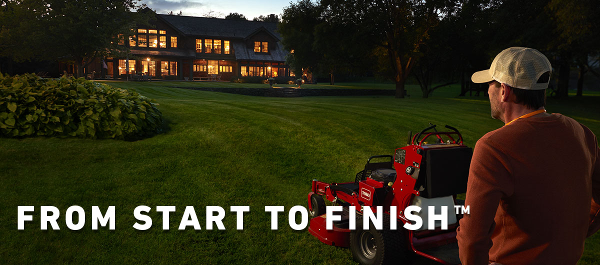 Toro Professional Contractor Equipment - From Start to Finish™