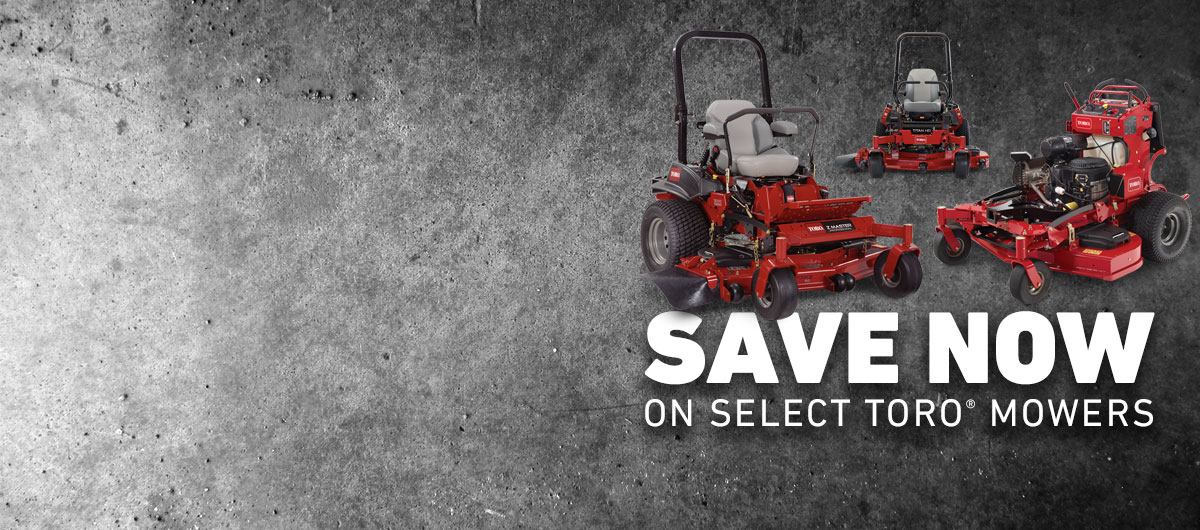 Toro Landscape Contractor Promotions