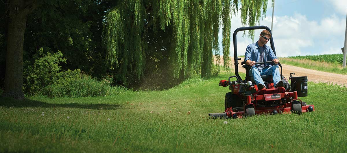 Stand Behind Lawn Mower >> Commercial Lawn Mowers Zero Turn Mowers Walk Behind Push