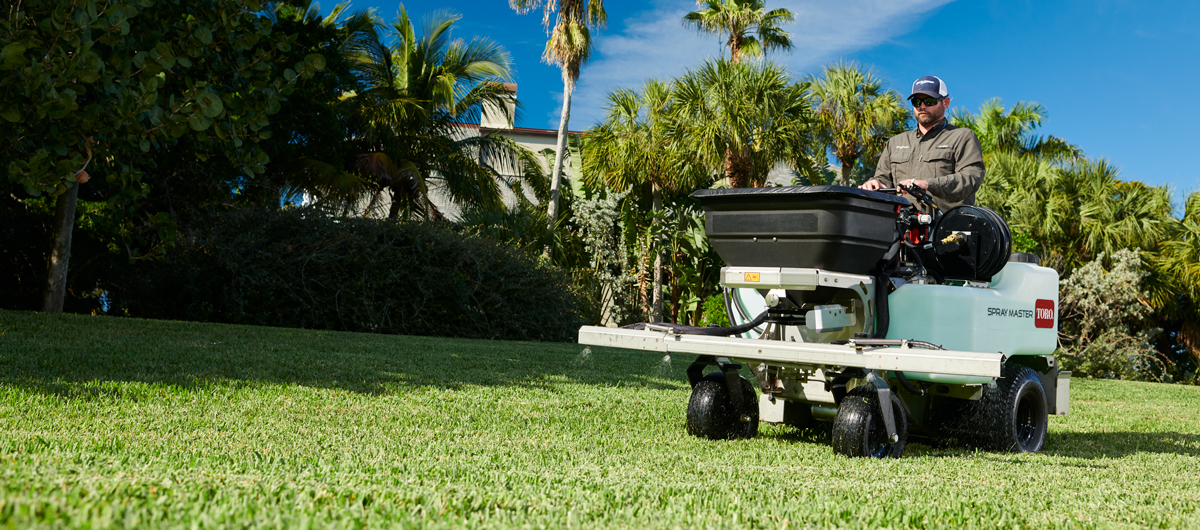 Up your productivity and profitability with a sprayer designed to deliver precision on any size job.