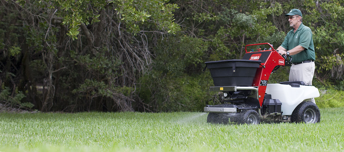 Toro Lean-To-Steer Spreader Sprayer