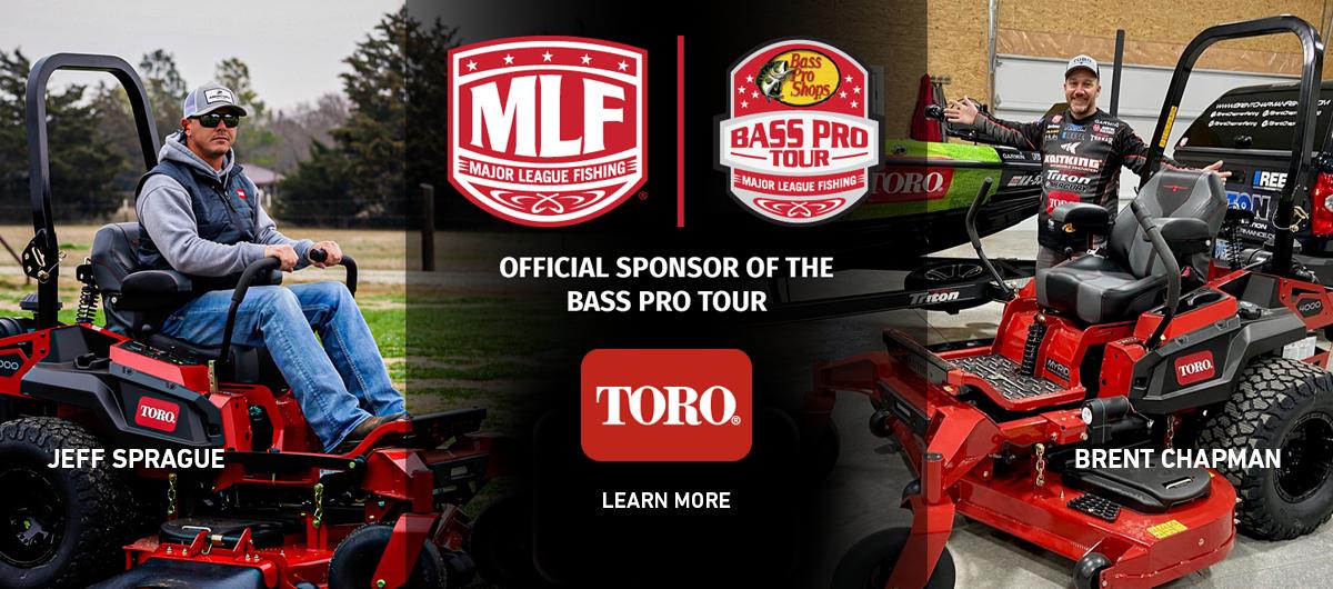 Toro Major League Fishing Sponsorship