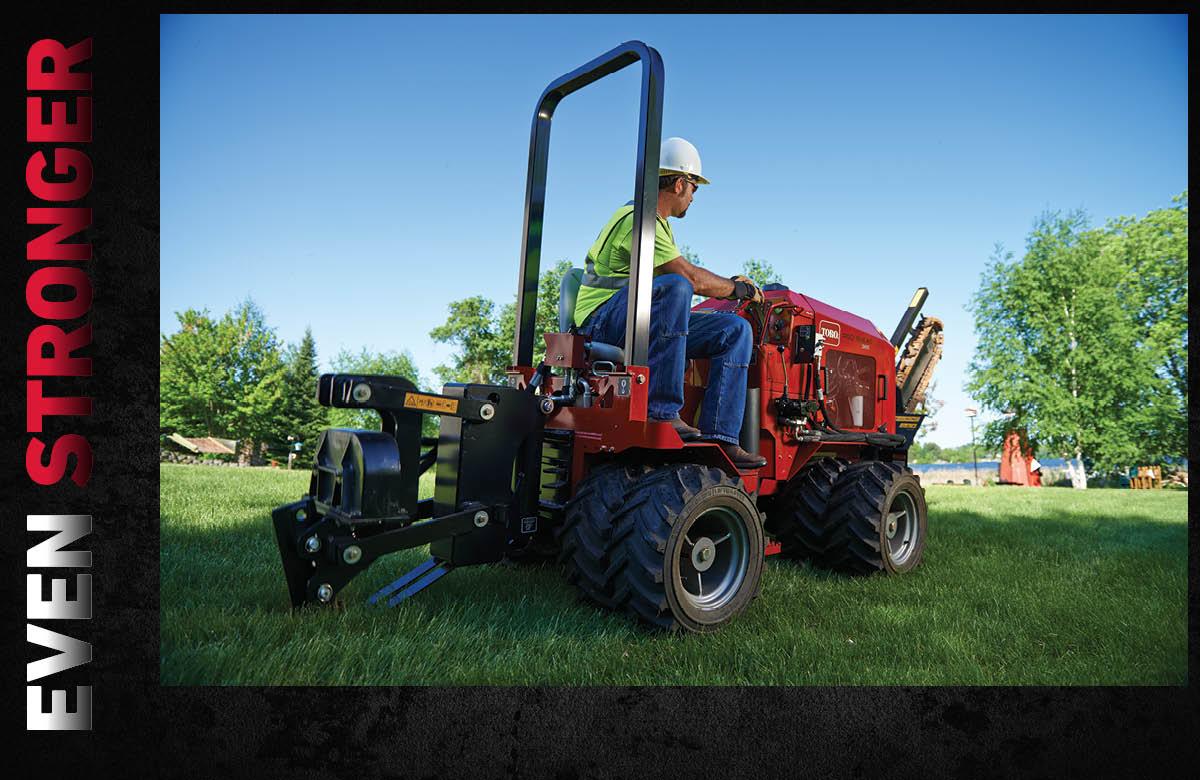 Pro Sneak vibratory plow