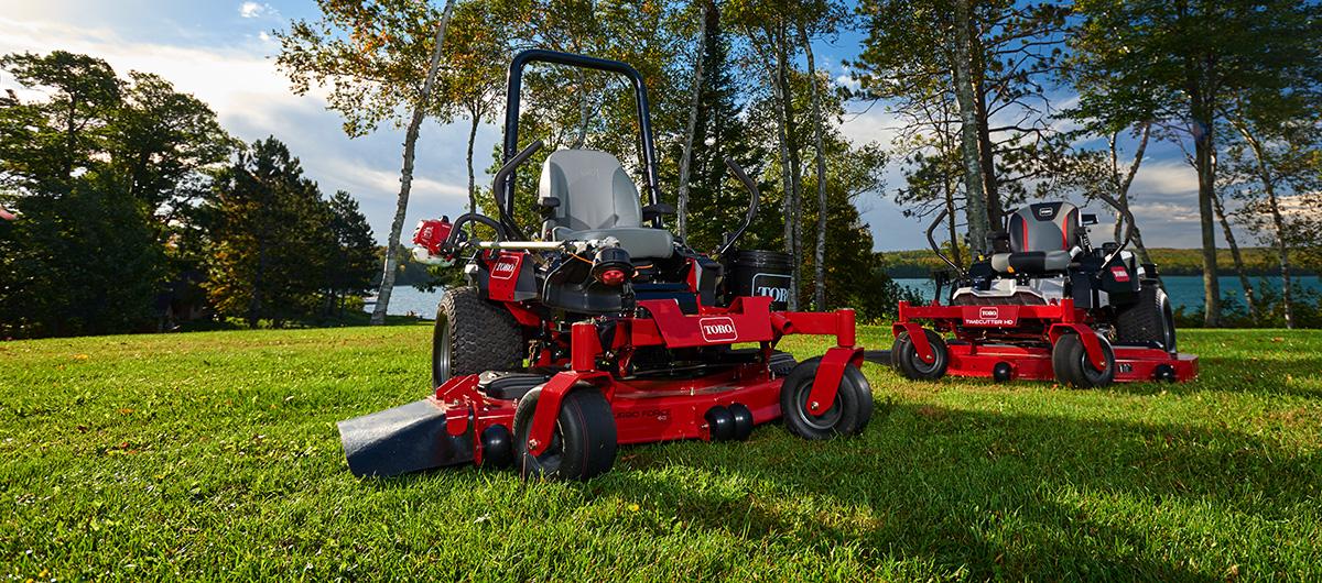 Best new Toro zero turn mowers to demo