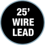 25' Wire Lead