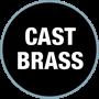 Cast Brass