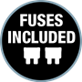 Fuses Included