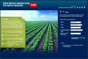 Drip Irrigation Payback Wizard