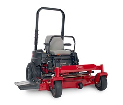 model 74862 titan zx5400 zero turn mower