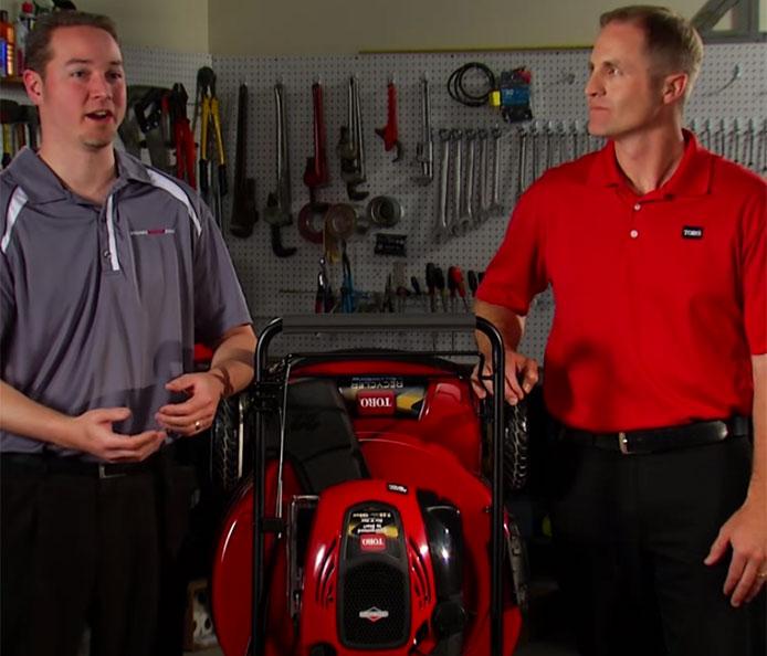 Toro SmartStow Vertical Lawn Mower: How It's Made (short)