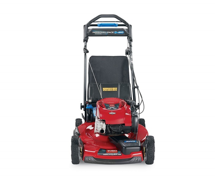 Toro 22 Quot 56 Cm Personal Pace 174 All Wheel Drive Lawn Mower