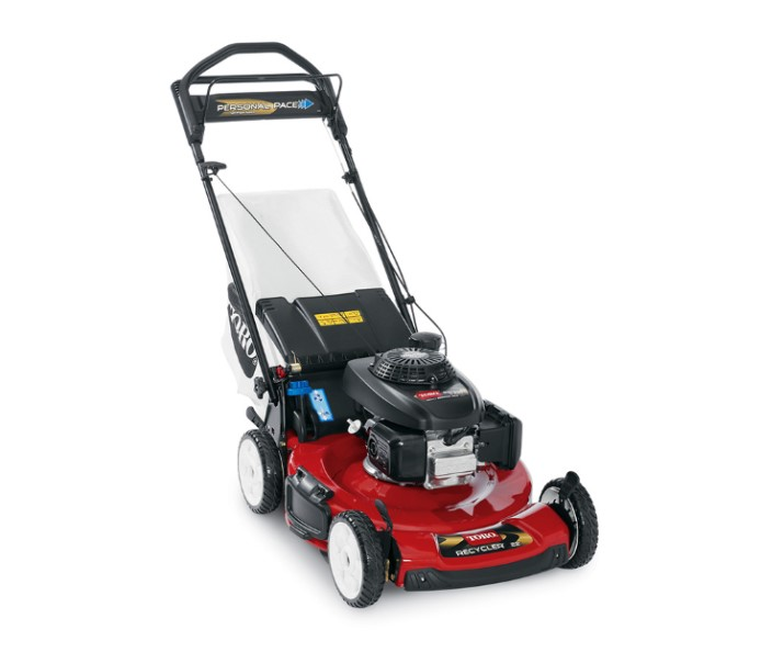 toro 22 56 cm personal pace honda engine lawn mower. Black Bedroom Furniture Sets. Home Design Ideas
