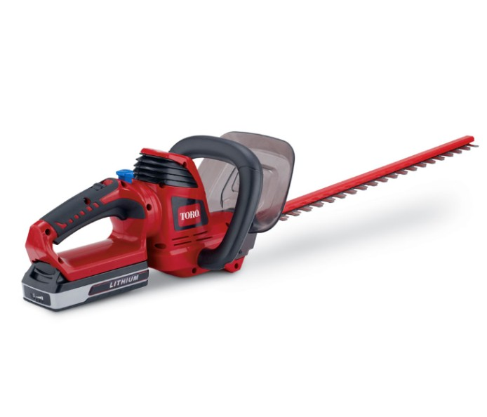 3 Point Hedge Trimmer : Toro v max quot cordless hedge trimmer