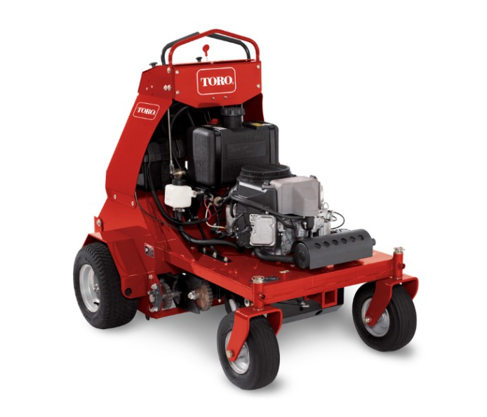 "Stand Ride On Leaf Blower Rental: 30"" Stand-On Aerator"